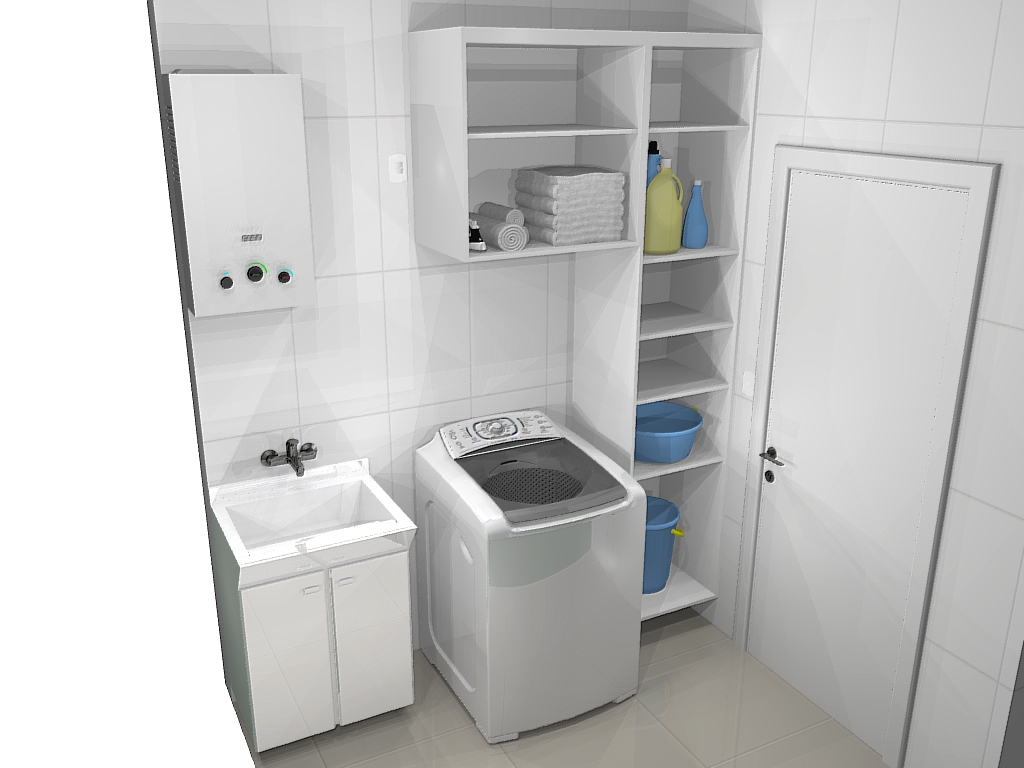 Image For Modelos de armários de canto para cozinha Decorando Casas #384F68 1024 768
